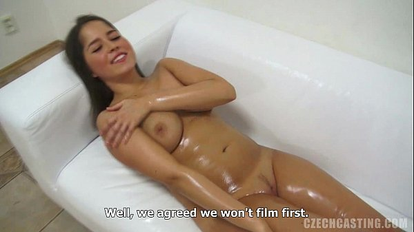 Hot MILF giving great blowjob from Czech Casting Andrea